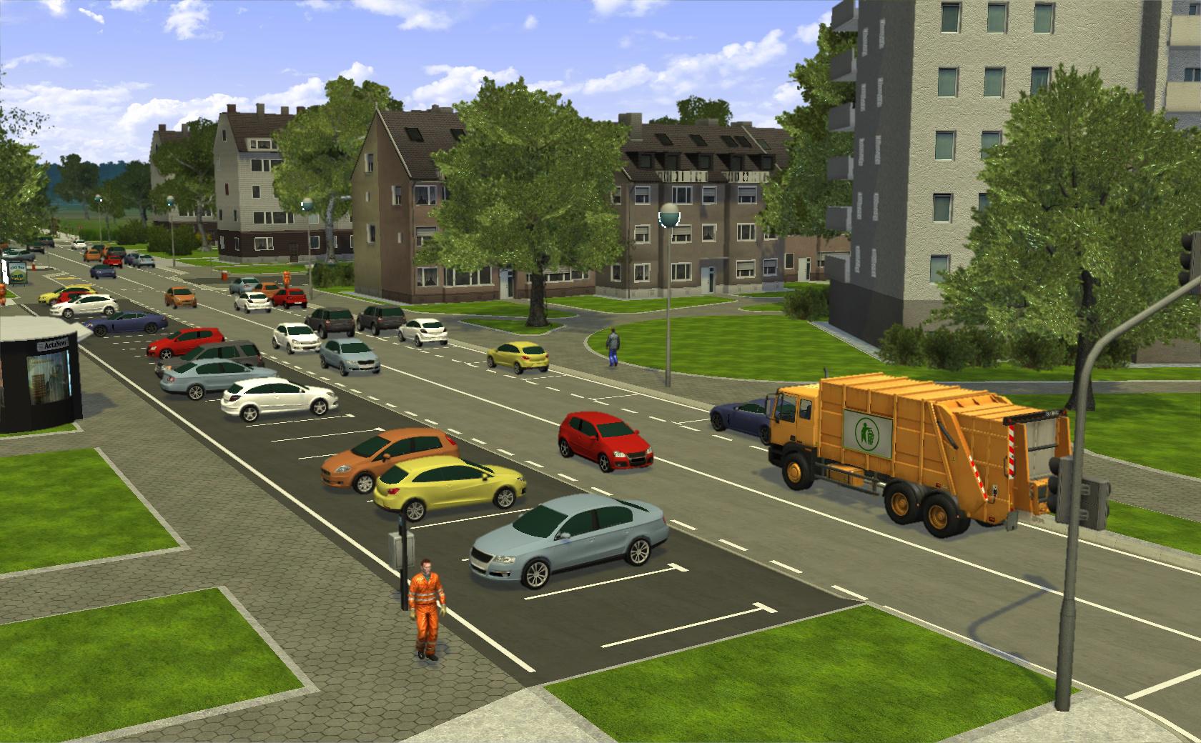 Recycle Garbage Truck Simulator Multilenguaje ESPAÑOL PC (ALiAS) 4