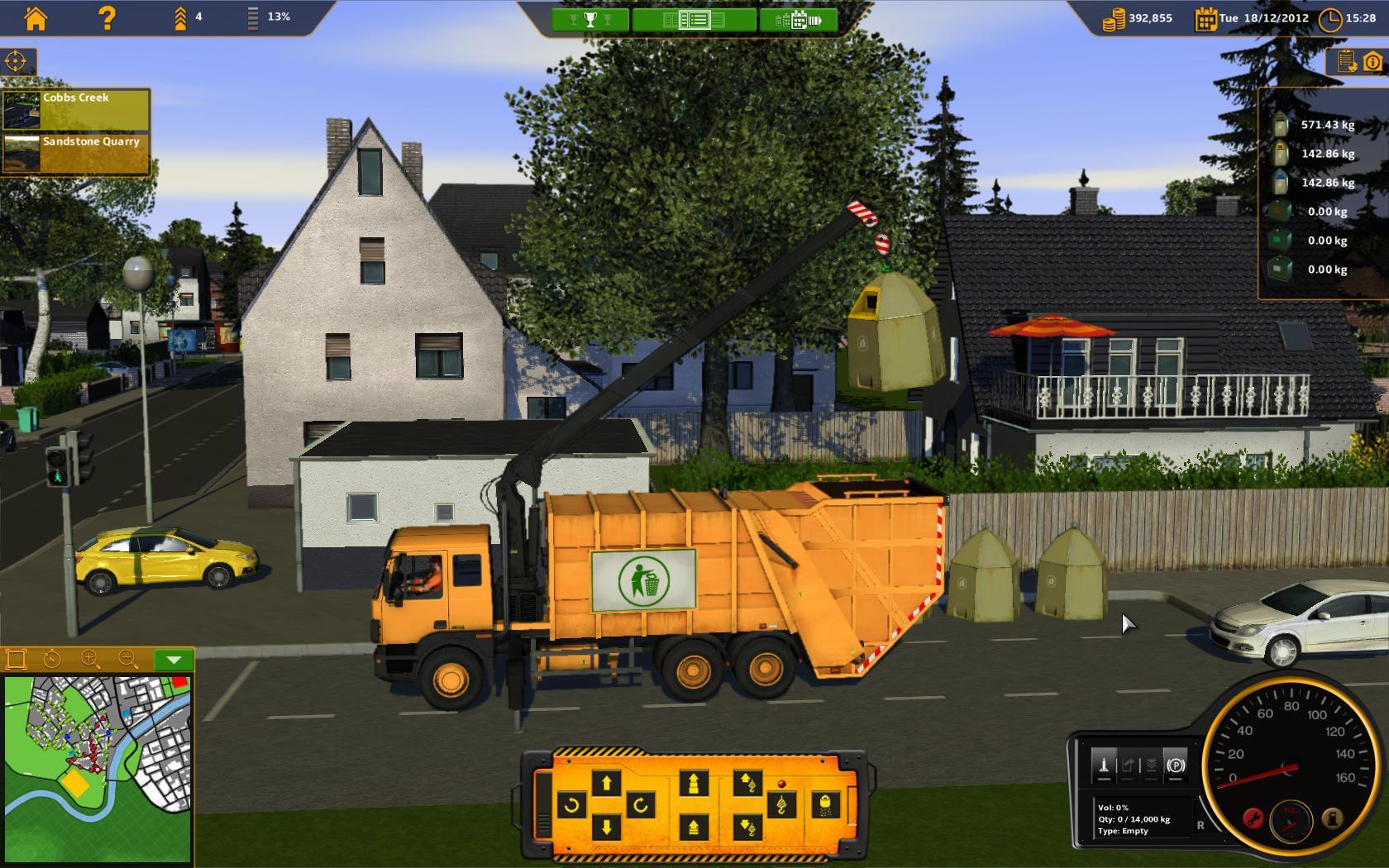 Recycle Garbage Truck Simulator Multilenguaje ESPAÑOL PC (ALiAS) 2
