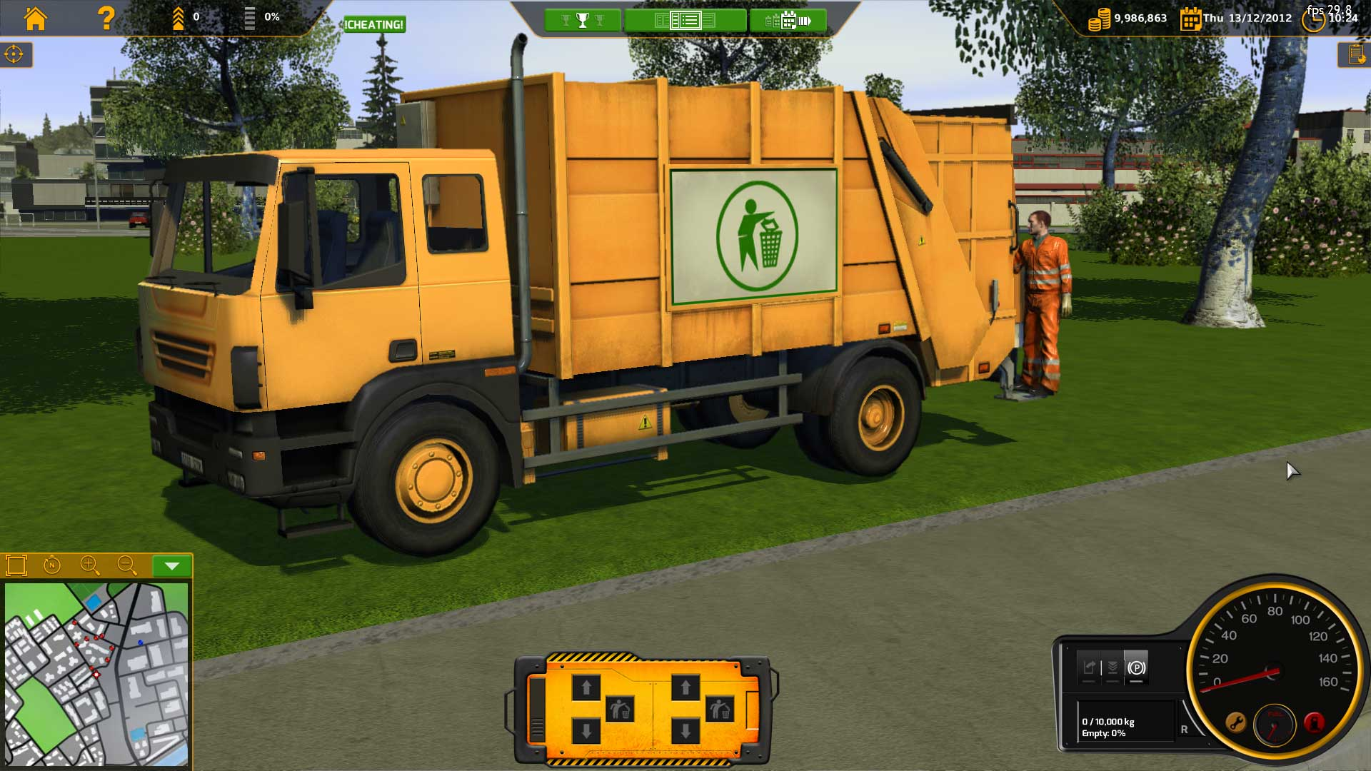 Recycle Garbage Truck Simulator Multilenguaje ESPAÑOL PC