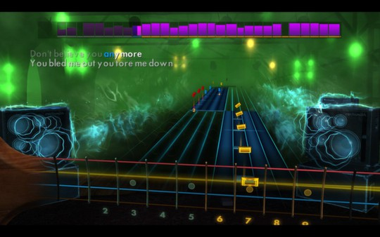 """Скриншот №1 к Rocksmith® 2014 – Slash featuring Myles Kennedy and The Conspirators - """"You're a Lie"""""""