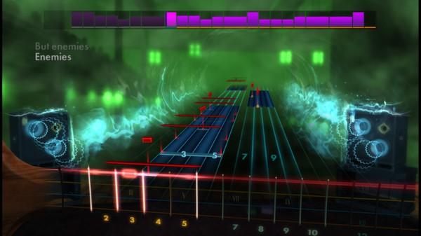 "Скриншот №4 к Rocksmith® 2014 – Shinedown - ""Enemies"""