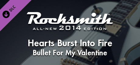 """Rocksmith® 2014 – Bullet For My Valentine - """"Hearts Burst Into Fire"""""""