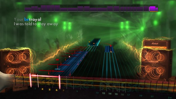 "Скриншот №1 к Rocksmith® 2014 – Bullet For My Valentine - ""Your Betrayal"""