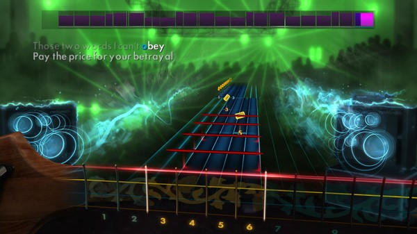 "Скриншот №4 к Rocksmith® 2014 – Bullet For My Valentine - ""Your Betrayal"""