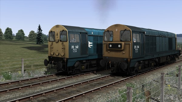 скриншот BR Blue Class 20 Add-On Livery 0