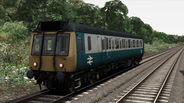 скриншот BR Blue Grey Class 121 Add-On Livery 3