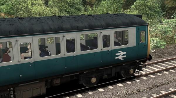 скриншот BR Blue Grey Class 121 Add-On Livery 2