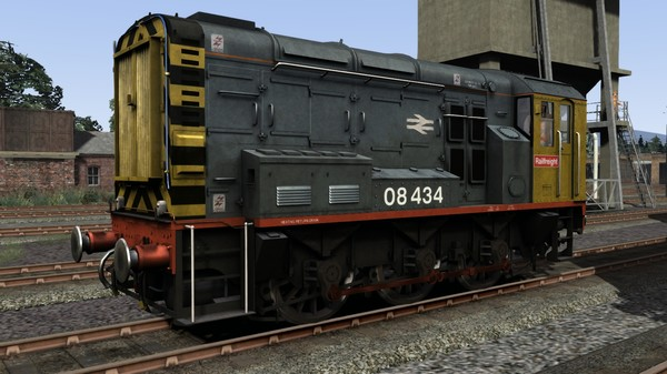 скриншот Class 08 Railfreight Add-On Livery 0