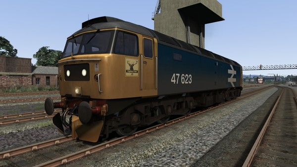 BR Blue Class 47 Large Logo Highland Rail Livery