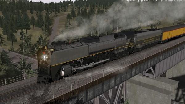 скриншот Union Pacific FEF-3 Overland Add-On Livery 1