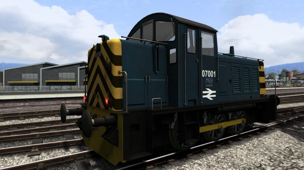 скриншот BR Blue Class 07 Add-On Livery 0