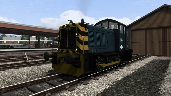 скриншот BR Blue Class 07 Add-On Livery 3