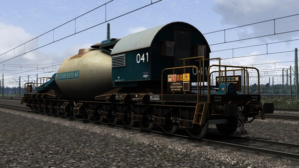 скриншот TS Marketplace: Torpedopfannenwagen Pack 0