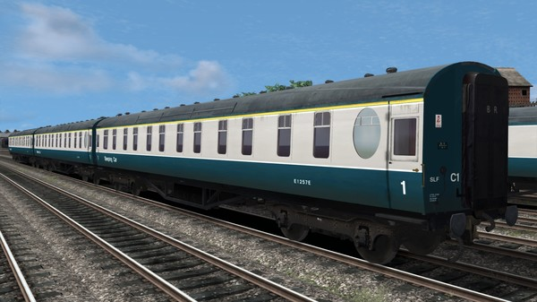 скриншот TS Marketplace: BR Blue-Grey Coaches Pack 01 3