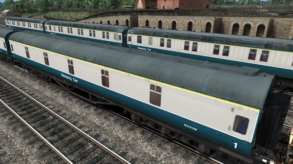 скриншот TS Marketplace: BR Blue-Grey Coaches Pack 02 3