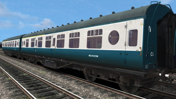скриншот TS Marketplace: BR Blue-Grey Coaches Pack 03 4