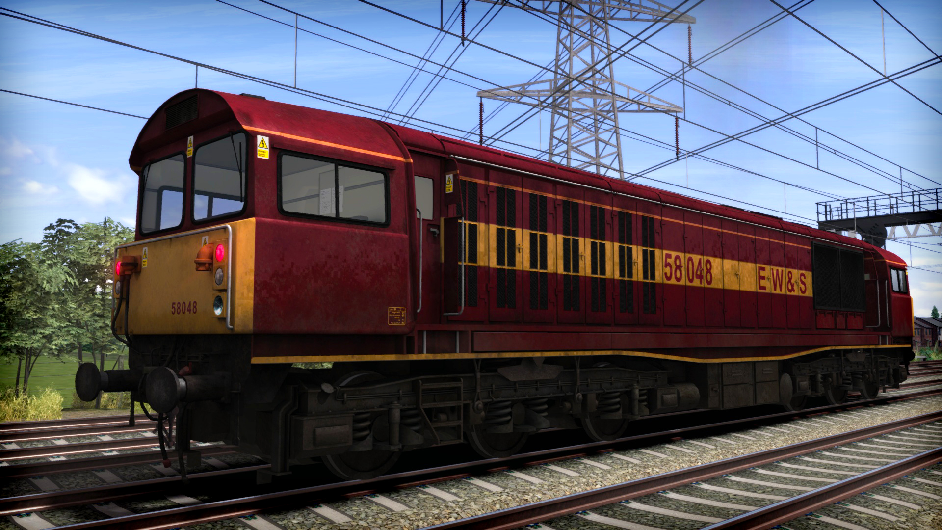 Train Simulator Marketplace: EWS Class 58 Add-On Livery 2016 pc game Img-2
