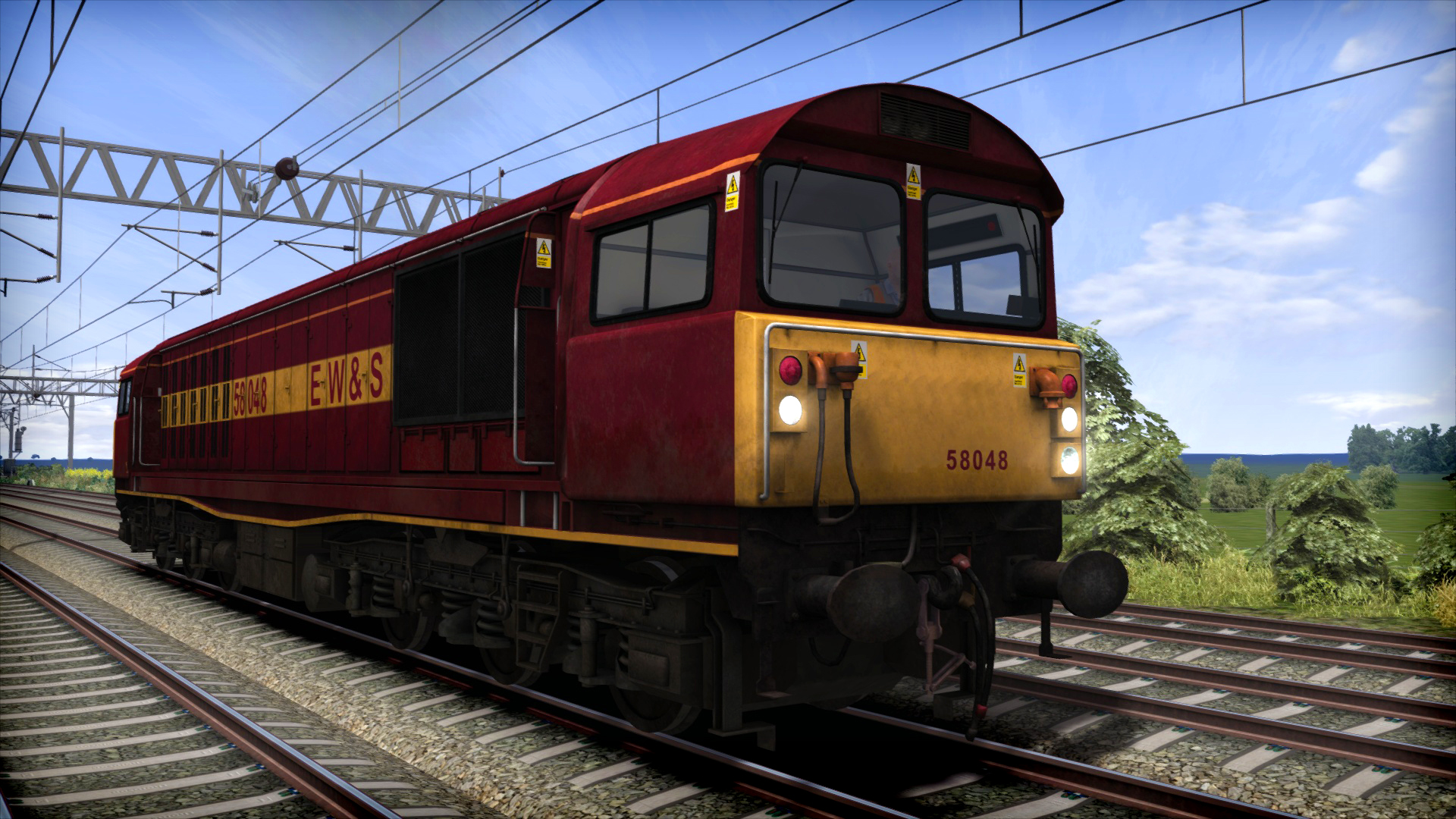 Train Simulator Marketplace: EWS Class 58 Add-On Livery 2016 pc game Img-3