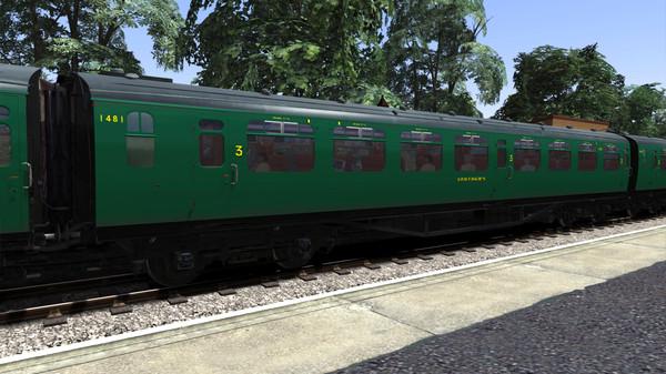 скриншот TS Marketplace: Bulleid Coach Pack 01 Add-on 4
