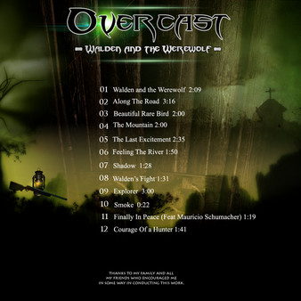 скриншот Overcast - Walden and the Werewolf - Soundtrack 1