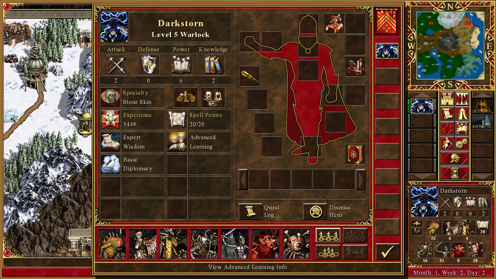 Heroes Of Might And Magic 3 HD Edition ESPAÑOL PC Full (PROPHET) 2