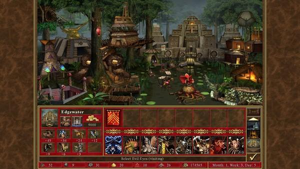 скриншот Heroes of Might & Magic III - HD Edition 0