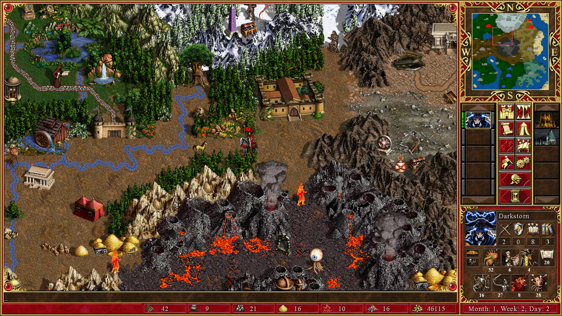 Might And Magic X World Map.Heroes Of Might Magic Iii Hd Edition On Steam