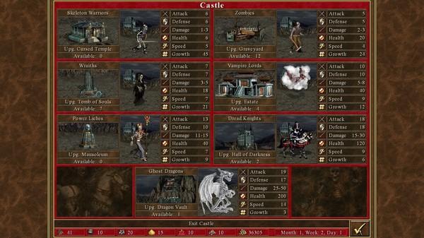 скриншот Heroes of Might & Magic III - HD Edition 7
