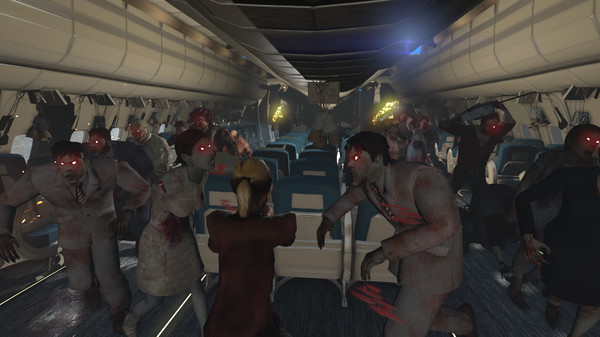 Zombies on a Plane