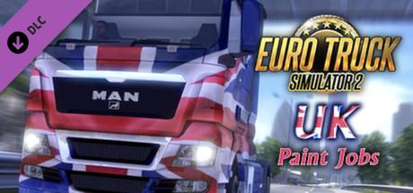 Euro Truck Simulator 2 - UK Paint Jobs Pack