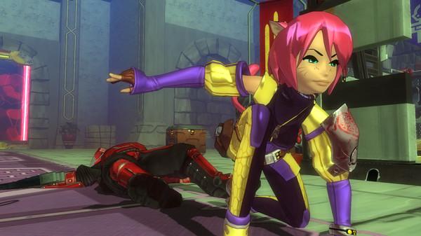 Скриншот из Blade Kitten: Episode 2