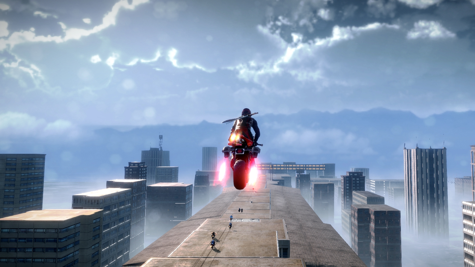 Road Redemption Airborne Gameplay