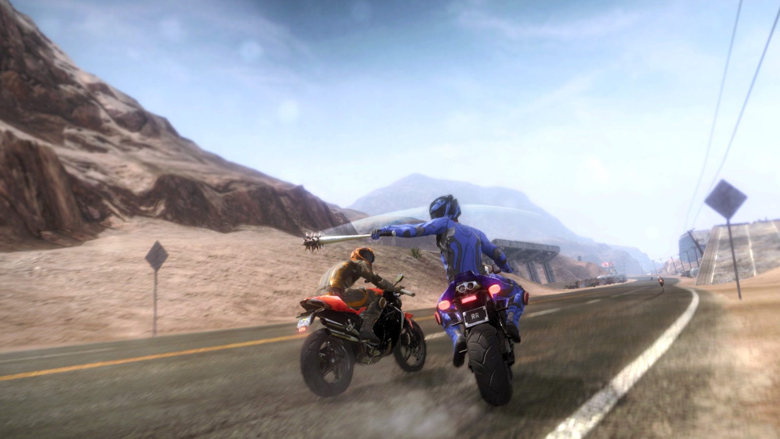 Road Redemption Gameplay Combat