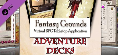 Fantasy Grounds - Savage Worlds Adventure Deck
