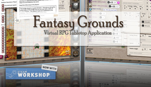 Fantasy Grounds Demo on Steam