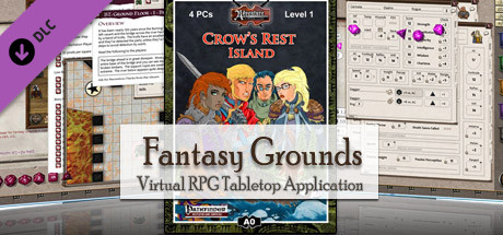 Fantasy Grounds - 3.5E/PFRPG: A00: Crow's Rest Island