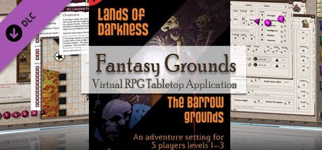Fantasy Grounds - 4E: Lands of Darkness #1: The Barrow Grounds