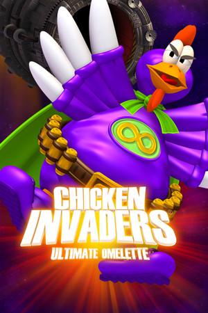 Chicken Invaders 4 poster image on Steam Backlog