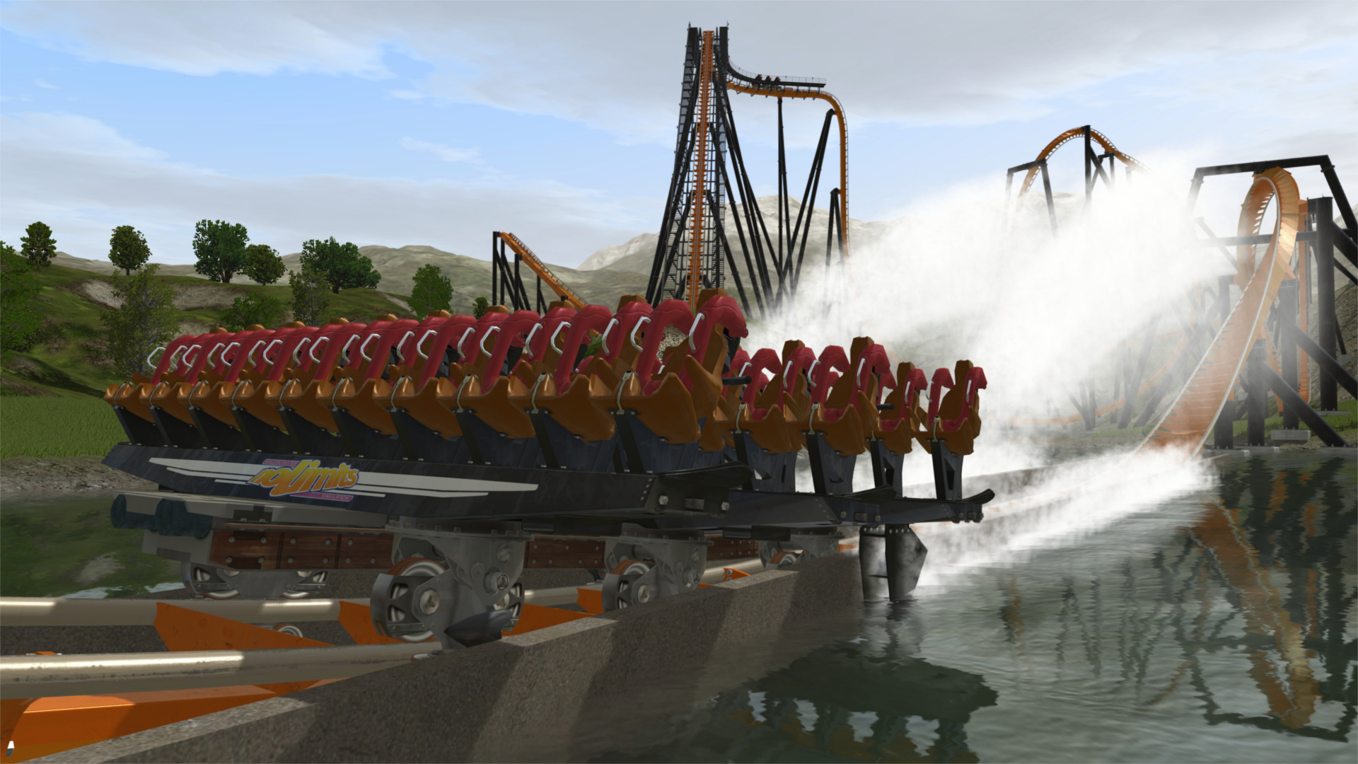 Roller coaster screenshot