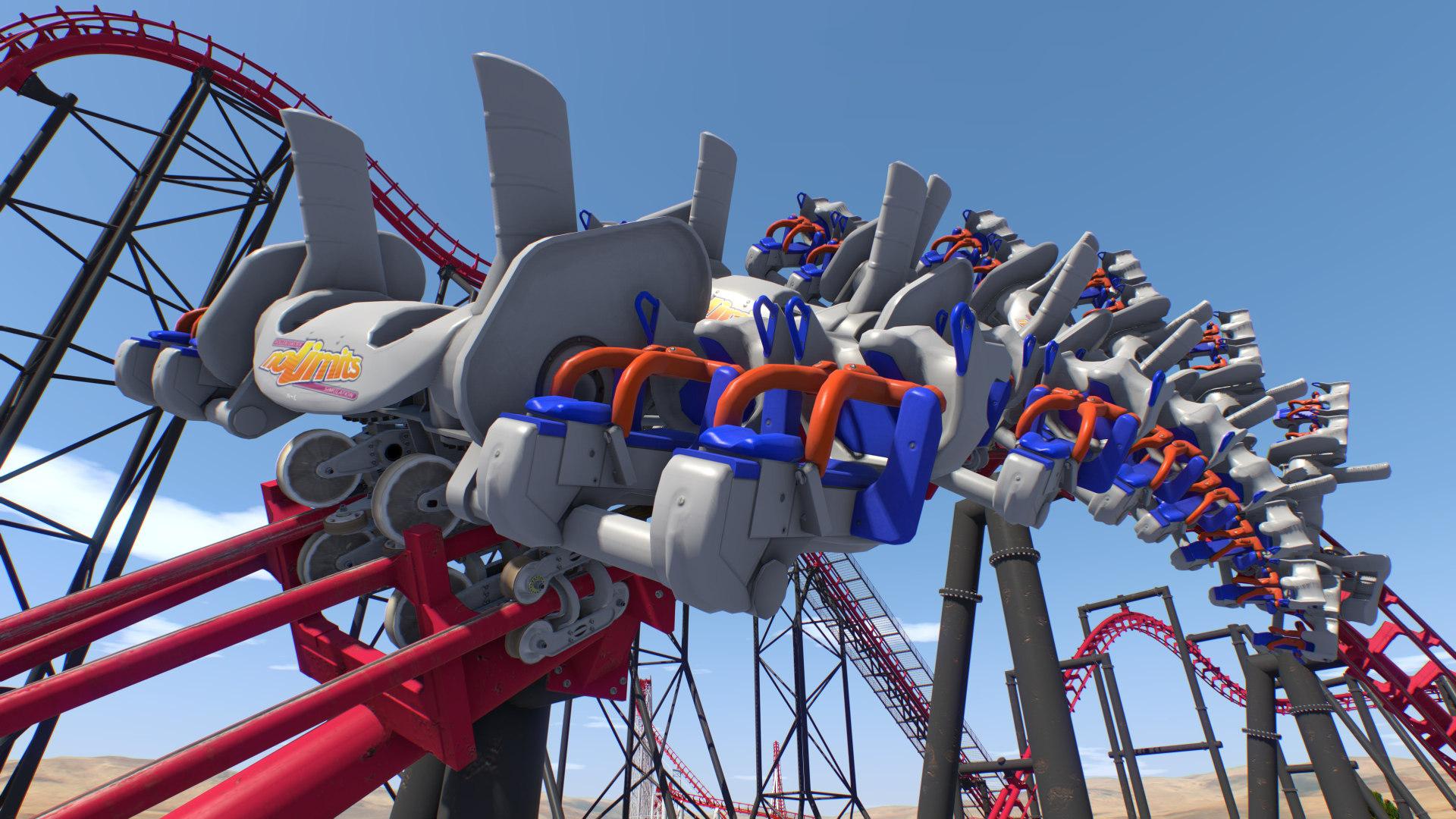 Nolimits 2 Roller Coaster Simulation On Steam Train Diagram