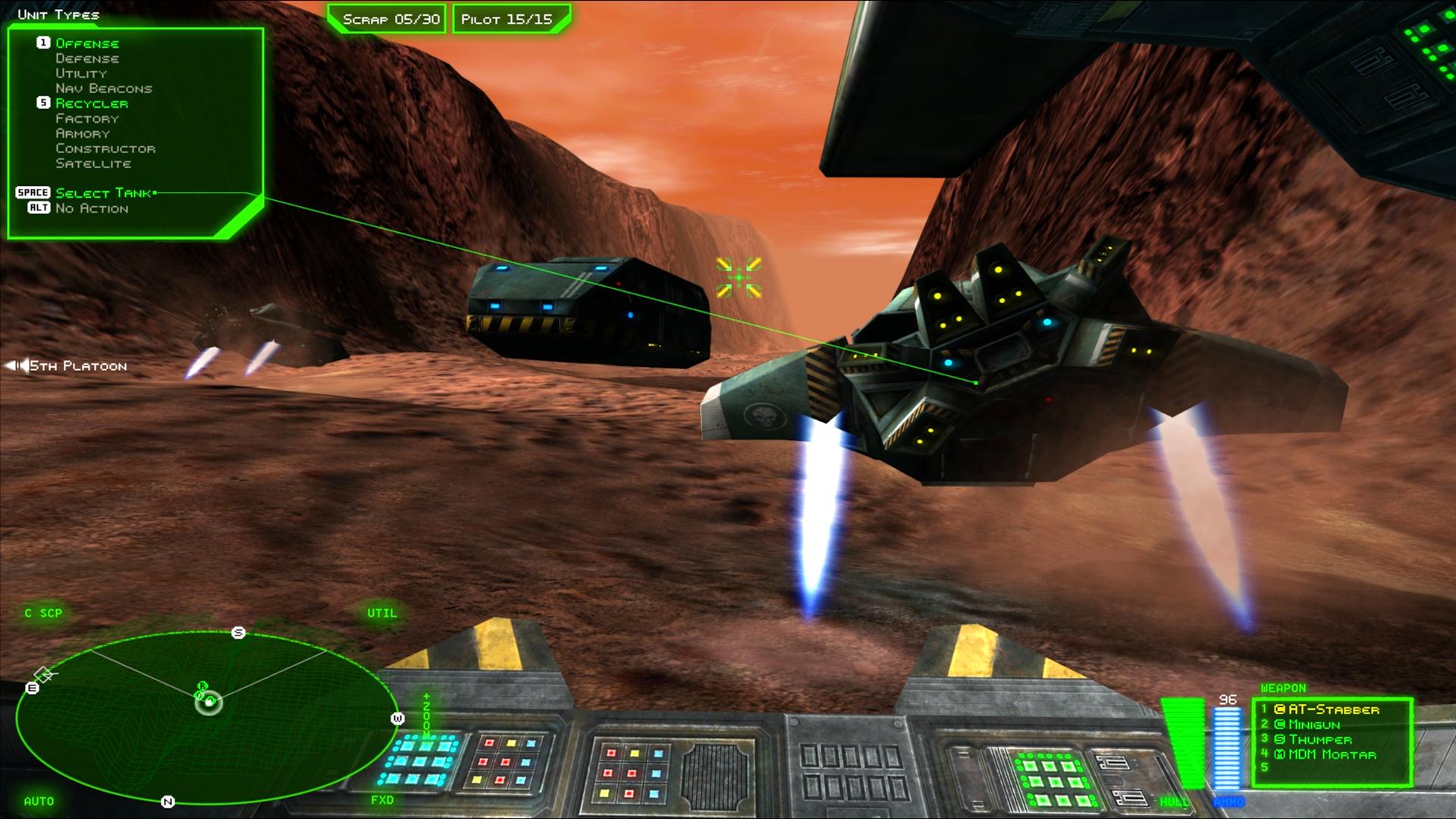 BattleZone 98 Redux screenshot 1