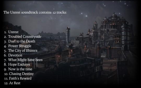 скриншот Unrest Soundtrack 0