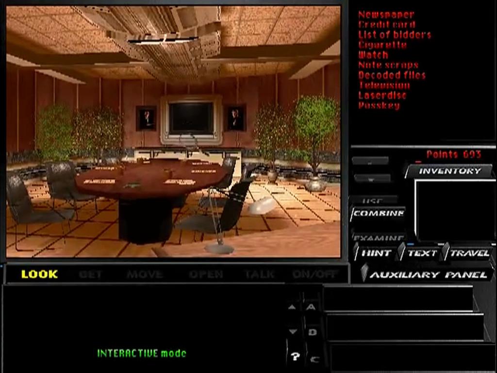 Tex Murphy: Under a Killing Moon screenshot 1