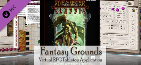 Fantasy Grounds - Rolemaster Classic Ruleset