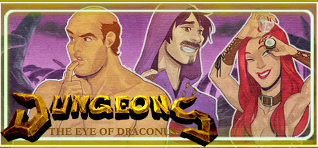 Game Banner Dungeons: The Eye of Draconus