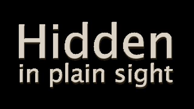 Hidden in Plain Sight logo