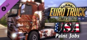 Euro Truck Simulator 2 - USA Paint Jobs Pack cover art