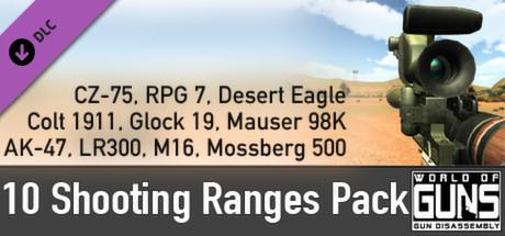 10 Shooting Ranges Pack