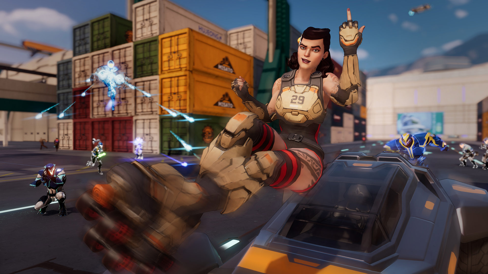 Agents of Mayhem Screenshot 1