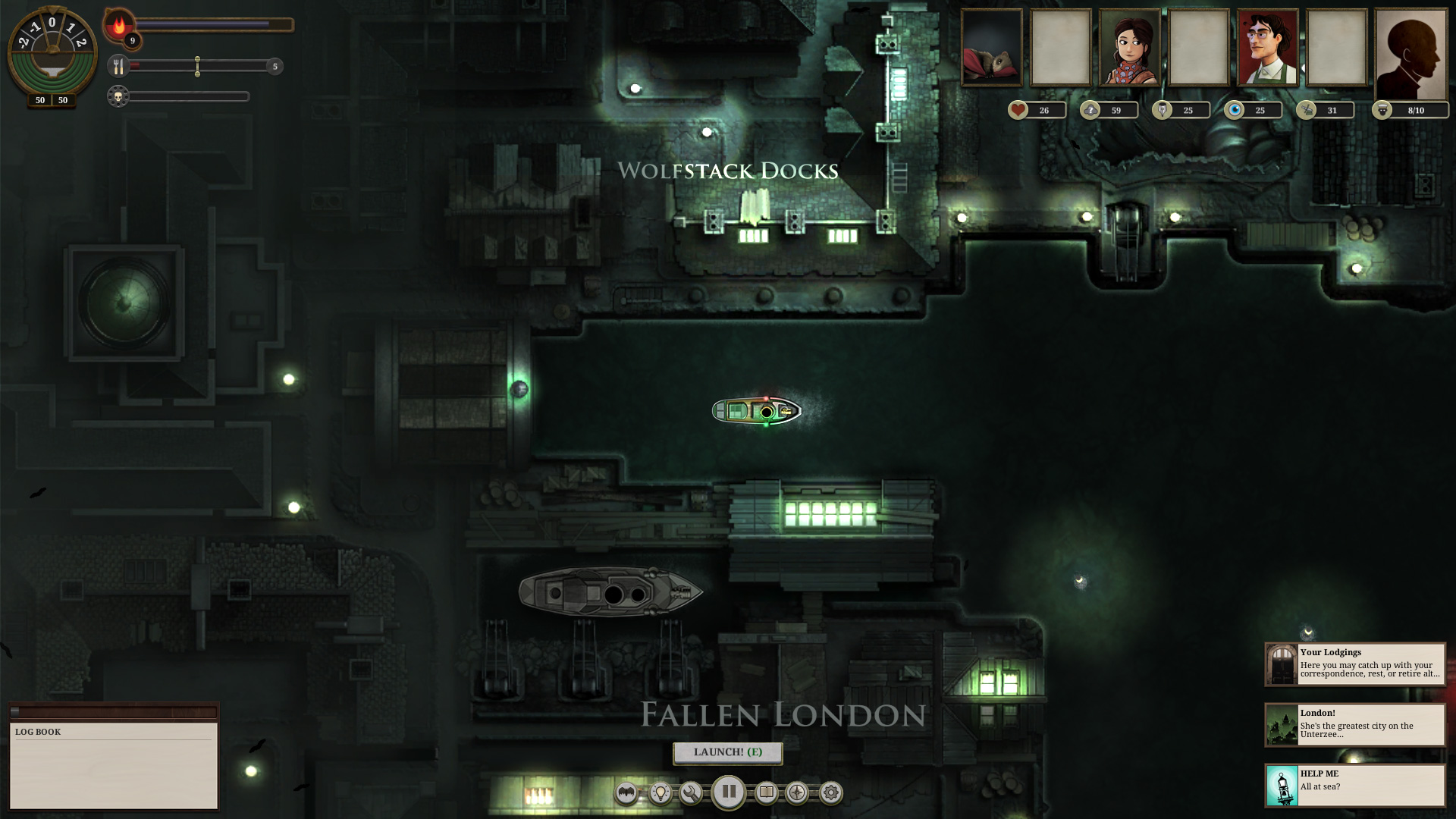 Sunless Sea screenshot 3